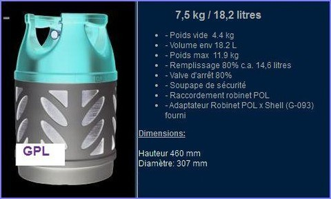 Bouteille GPL