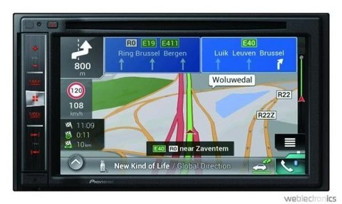 Autoradio multimédia GPS