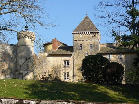 Château de Lamartine à Saint-Point