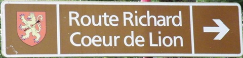Route Richard Coeur de Lion